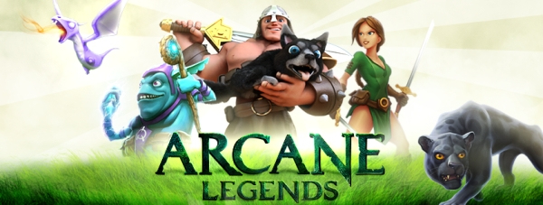 arcane legends logo