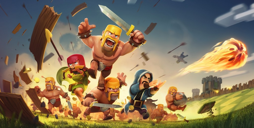 Clash of Clans personajes