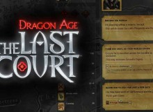 Dragon Age the Last Court