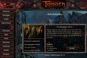 Quest Tanoth Online