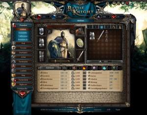 Atributos de personaje en BattleKnight