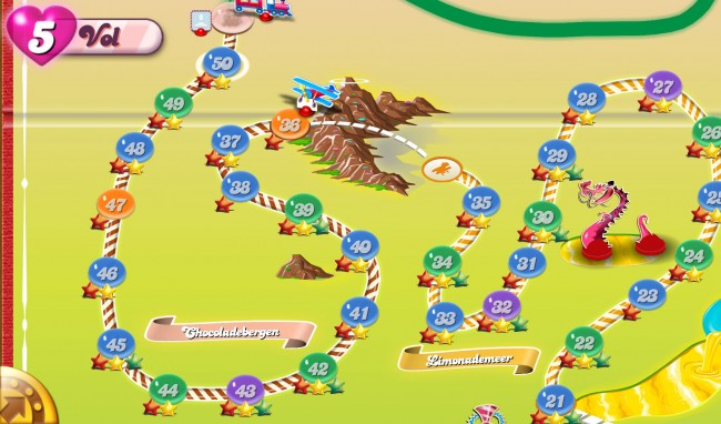 niveles candy crush