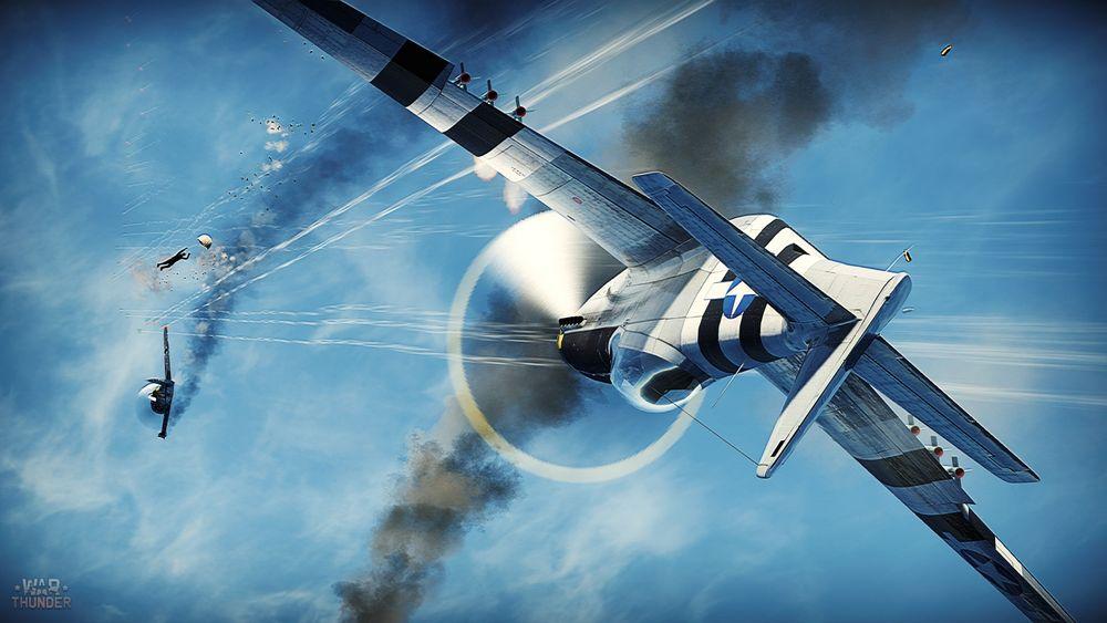 Combate de aviones War Thunder