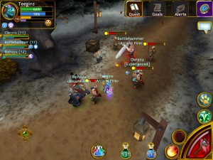 arcane legends por dentro