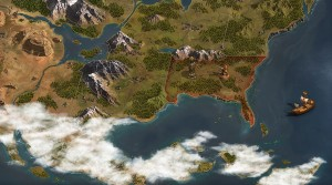 mapa continente forge of empires