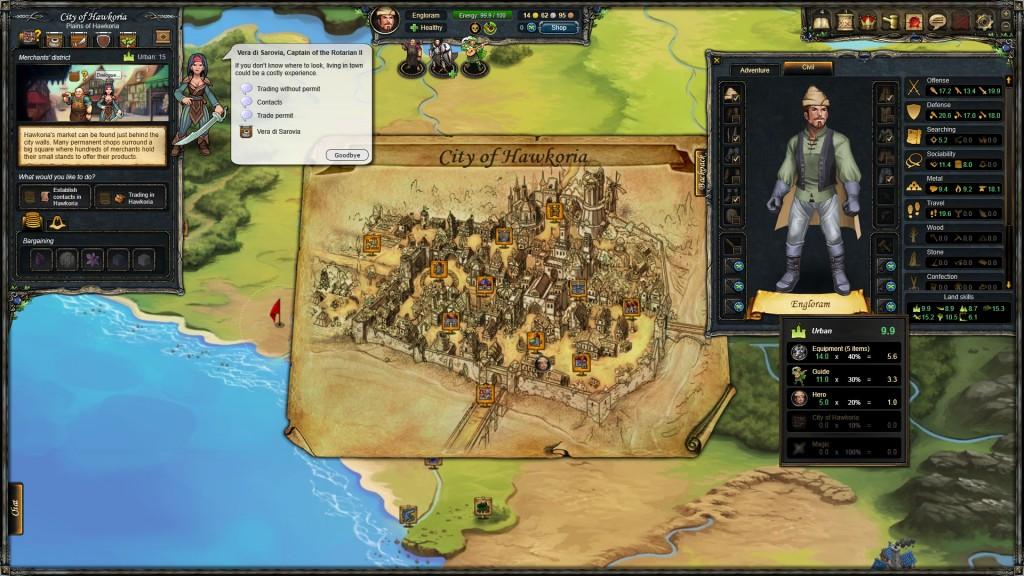 Ciudades Therian Saga