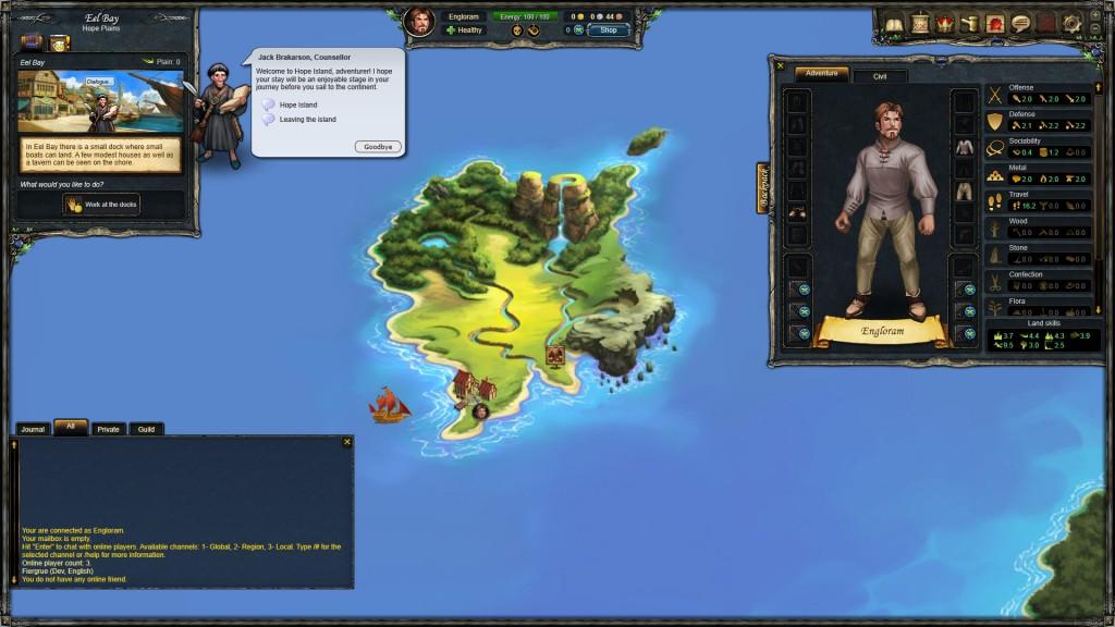 Mapa Therian Saga