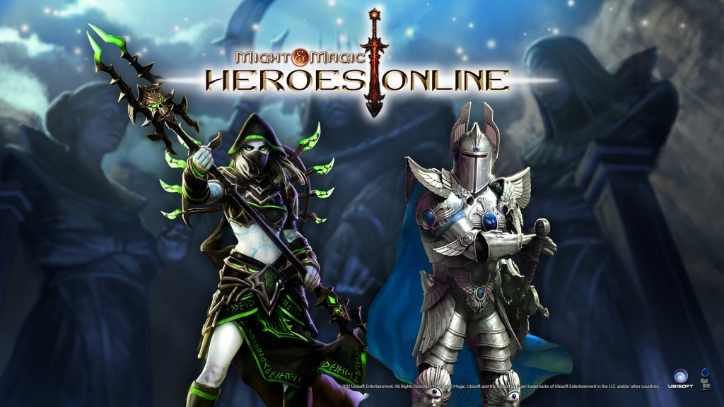 Might and magic heroes online logo