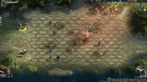 Combate might and magic heroes online
