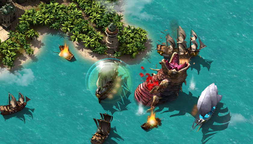 Batallas en Pirate Storm