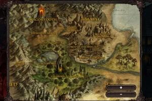 Mapa Tanoth Online