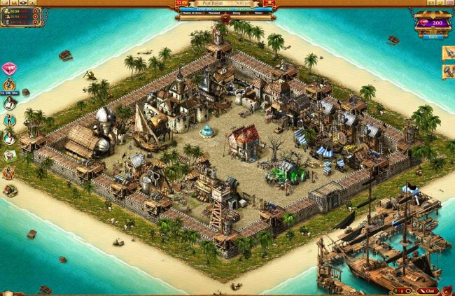 Isla pirates of fortune