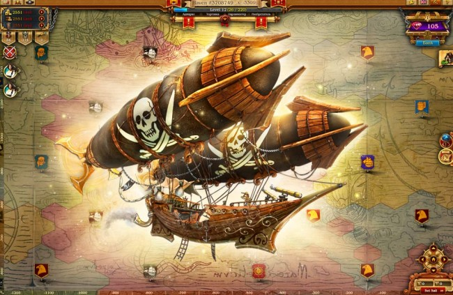 Tides of fortune barco volador